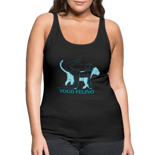 t shirt design YOGA FELINO - Canotta premium da donna