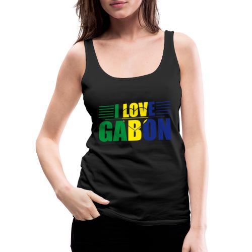 love gabon - Débardeur Premium Femme