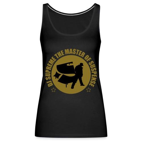 Master of Suspense T - Women's Premium Tank Top