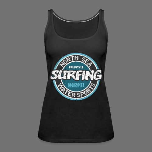 North Sea Surfing (oldstyle) - Dame Premium tanktop