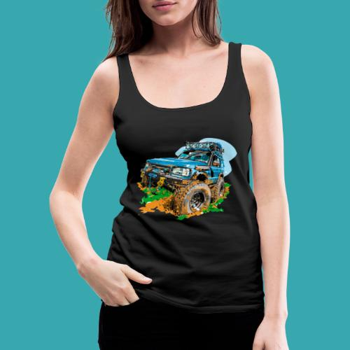 Big Blue - Women's Premium Tank Top