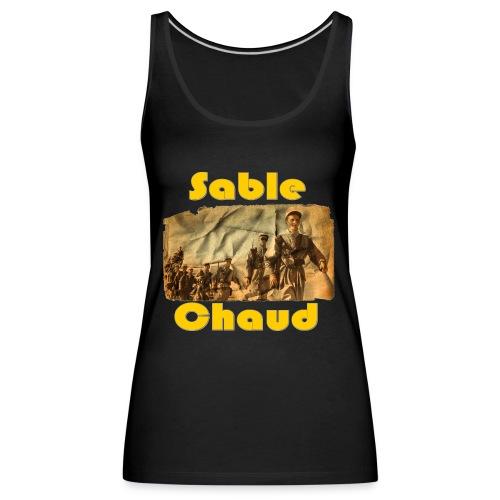 sable chaud6 - Débardeur Premium Femme
