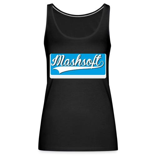 Mashsoft Retro Logo - Frauen Premium Tank Top