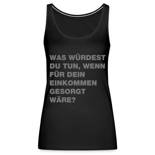 Grundeinkommen BGE - Frauen Premium Tank Top