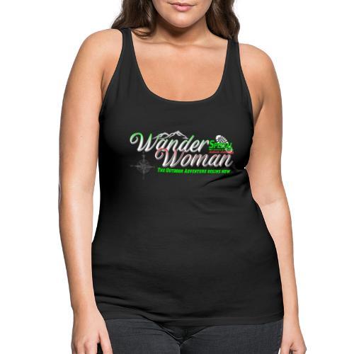 Special Edition Wander Woman Wandern Geschenk - Frauen Premium Tank Top
