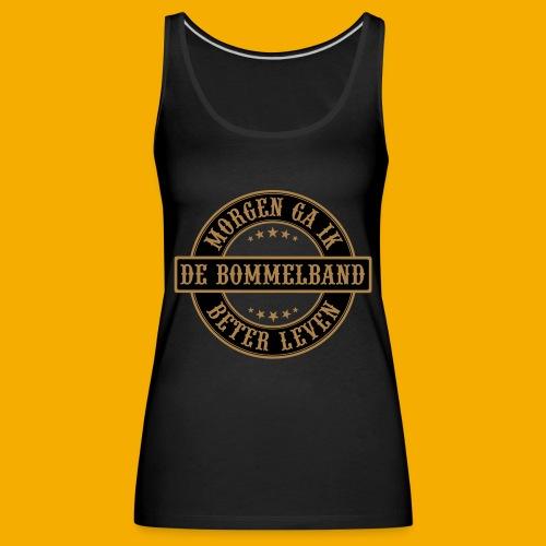 bb logo rond shirt - Vrouwen Premium tank top