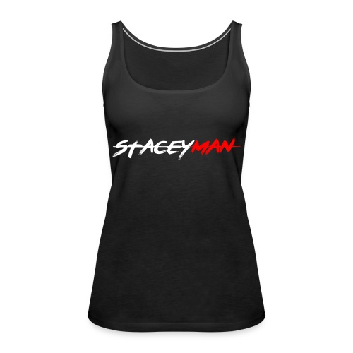 staceyman red design - Women's Premium Tank Top