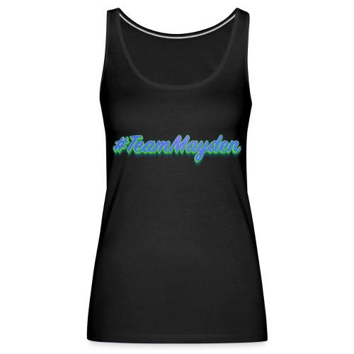 #TeamMayden - Camiseta de tirantes premium mujer
