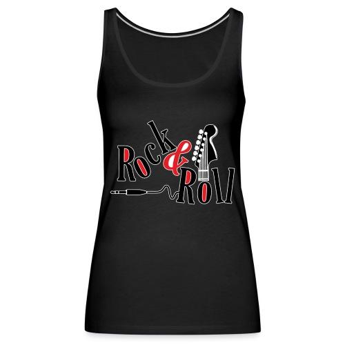 rock - Canotta premium da donna