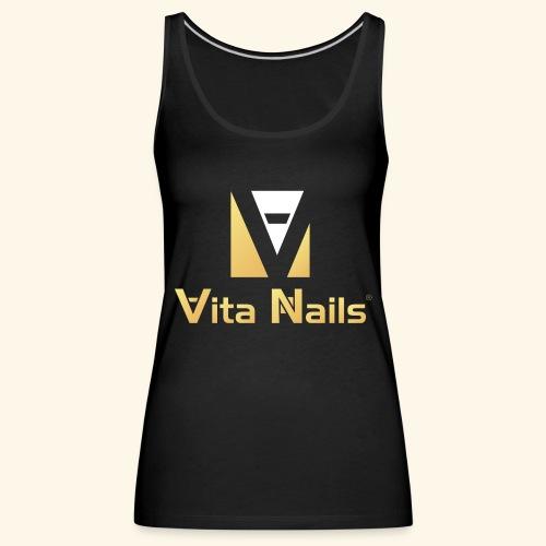 Vita Nails - Camiseta de tirantes premium mujer