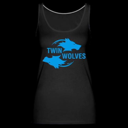 Twin Wolves Studio - Canotta premium da donna