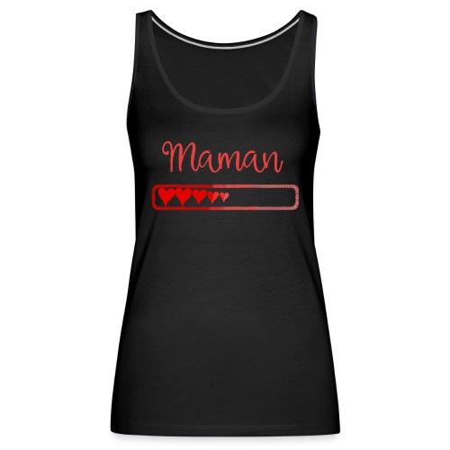 maman en chargement - Débardeur Premium Femme
