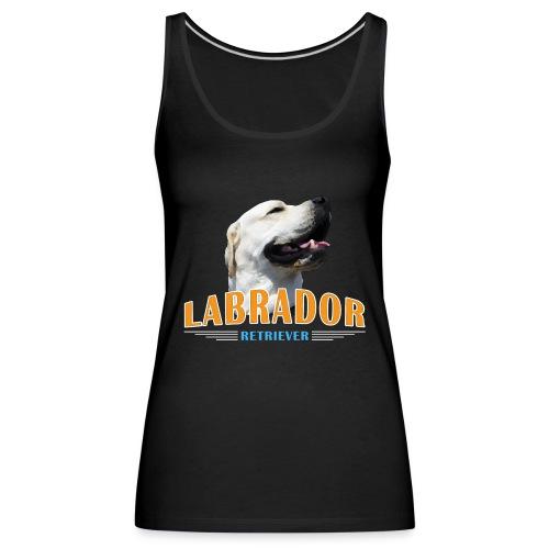 Labrador Tonko stolz - Frauen Premium Tank Top