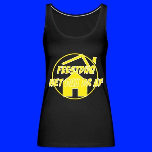 Geel Logo - Vrouwen Premium tank top