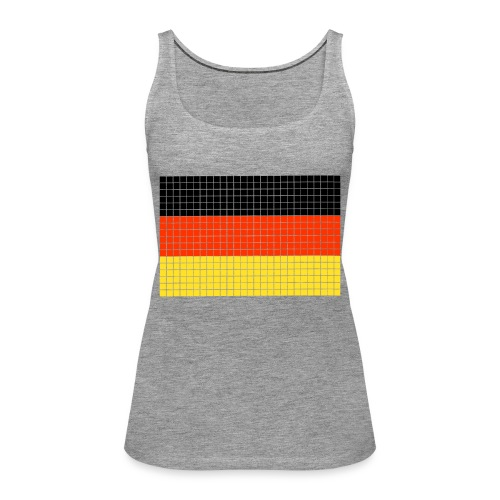 german flag.png - Canotta premium da donna