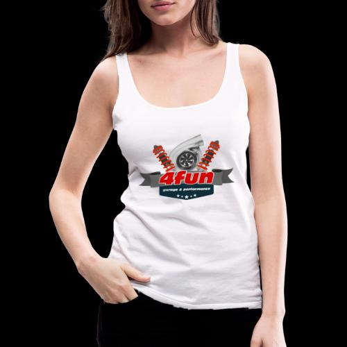 4fun tshirt - Tank top damski Premium