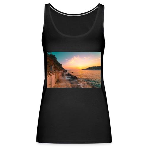Cala salada - Camiseta de tirantes premium mujer