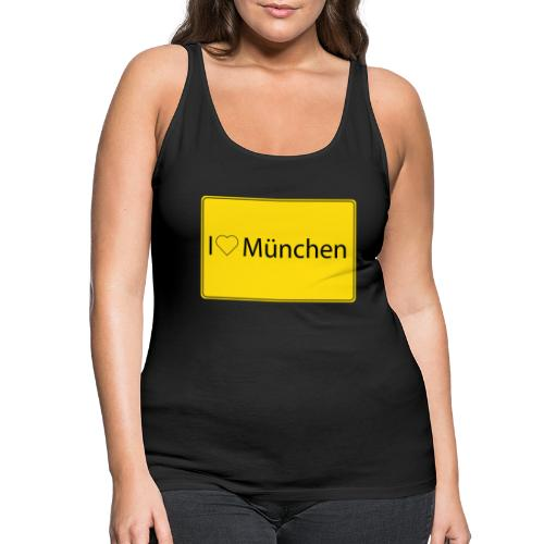 I love München - Frauen Premium Tank Top