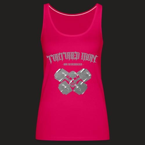 skull - Women's Premium Tank Top