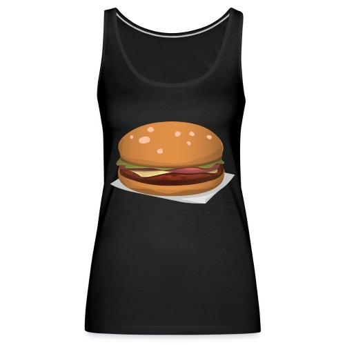 hamburger-576419 - Canotta premium da donna