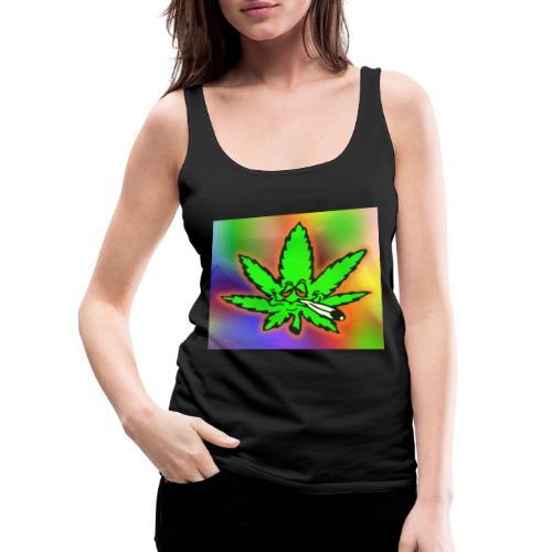 best weed - Naisten premium hihaton toppi