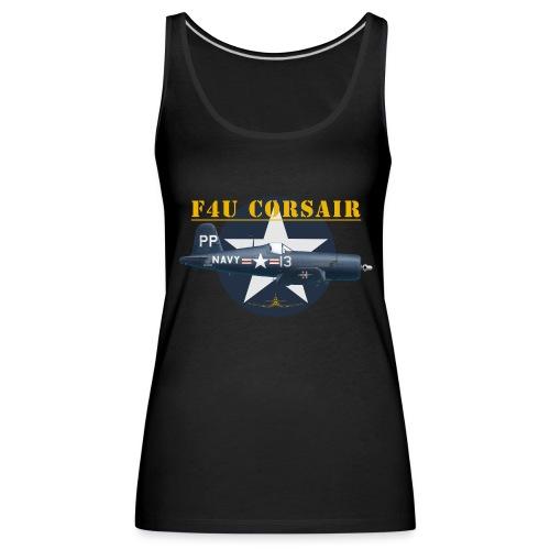F4U-5P shirt design - Women's Premium Tank Top
