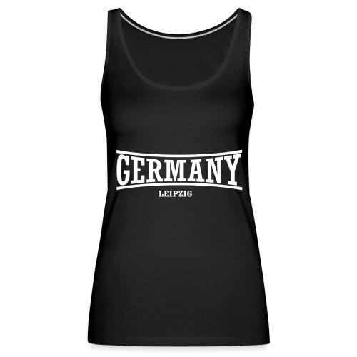 germany-leipzig-weiß - Frauen Premium Tank Top