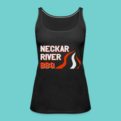 Neckar River BBQ Tasse - Frauen Premium Tank Top