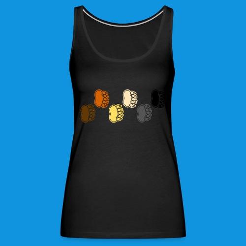 Bear Paws tank - Women's Premium Tank Top