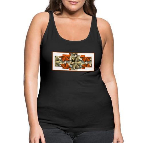 Abstract pattern - Women's Premium Tank Top