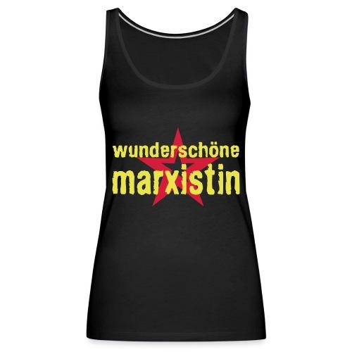 wunderschoene marxistin - Frauen Premium Tank Top