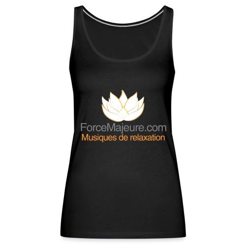 gros logo pour t shirt - Débardeur Premium Femme