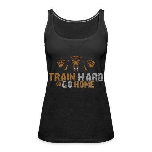 Training Bear Transparent Ohne Kontur - Frauen Premium Tank Top