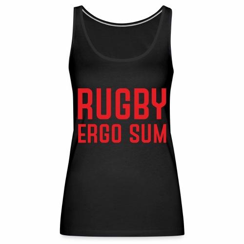 Marplo RugbyergosUM RED - Canotta premium da donna
