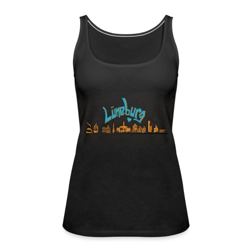 Lüneburg Design by deisoldphotodesign - Frauen Premium Tank Top