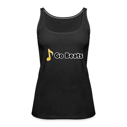 Logo with text - Women's Premium Tank Top