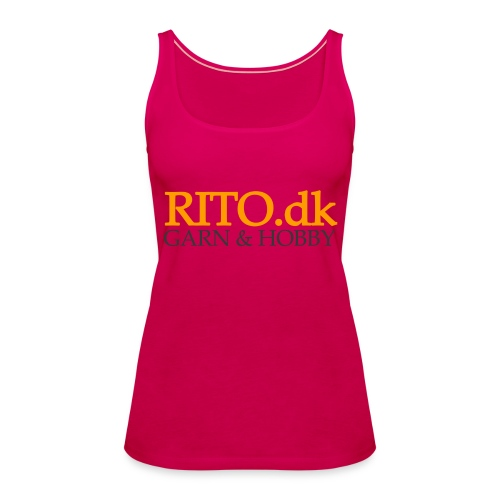 Rito Logo - Dame Premium tanktop