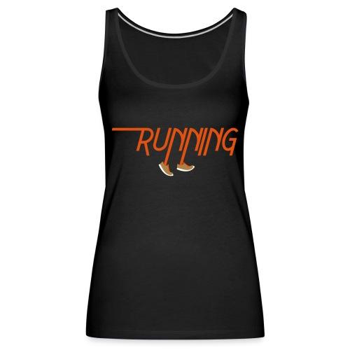 Running - Canotta premium da donna