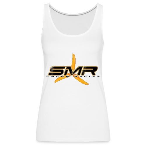 SMR WHITE - Débardeur Premium Femme