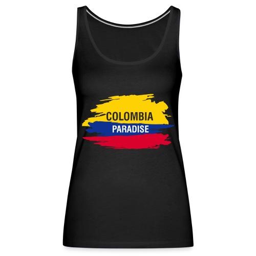 ETIQUETA COLOMBIA - Camiseta de tirantes premium mujer