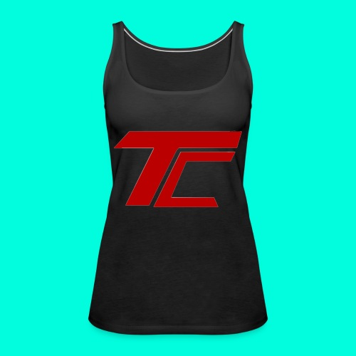 Red TC Logo - Premiumtanktopp dam