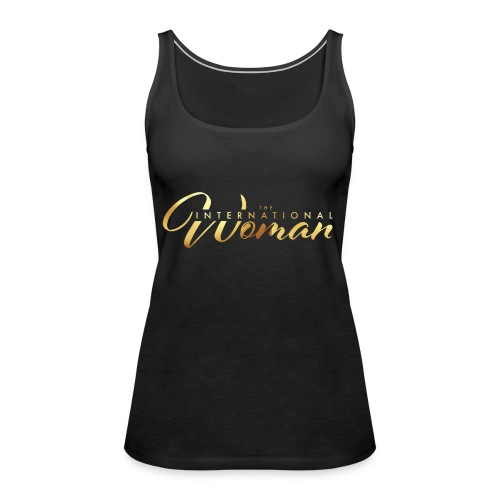 The International Woman - Premiumtanktopp dam