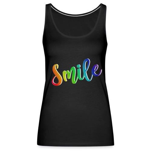 smile - Camiseta de tirantes premium mujer