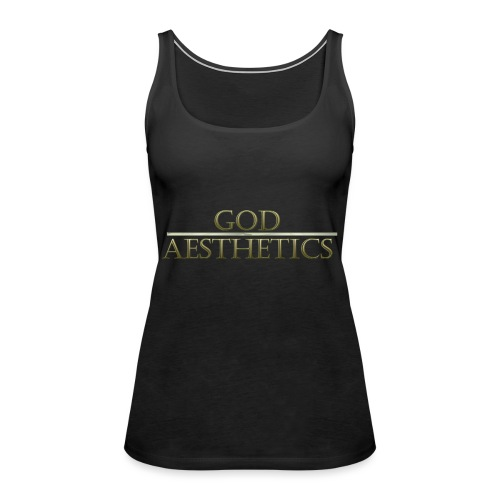 God Aesthetics Aesthetics Warrior Fitness Shredded - Women's Premium Tank Top