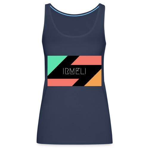 Irmelis Logo glothes - Naisten premium hihaton toppi