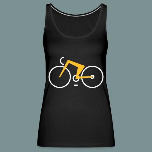 Bikes against cancer - Dame Premium tanktop