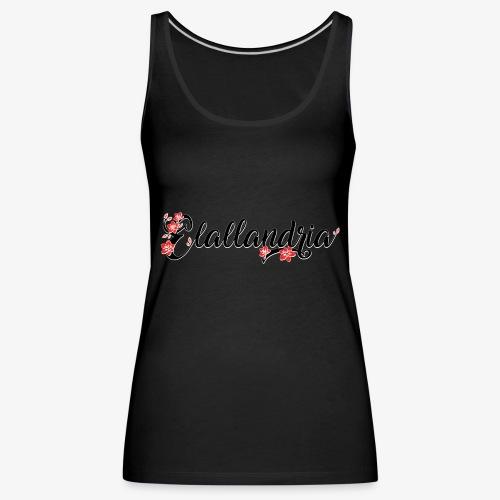 Elallandria logo - Women's Premium Tank Top