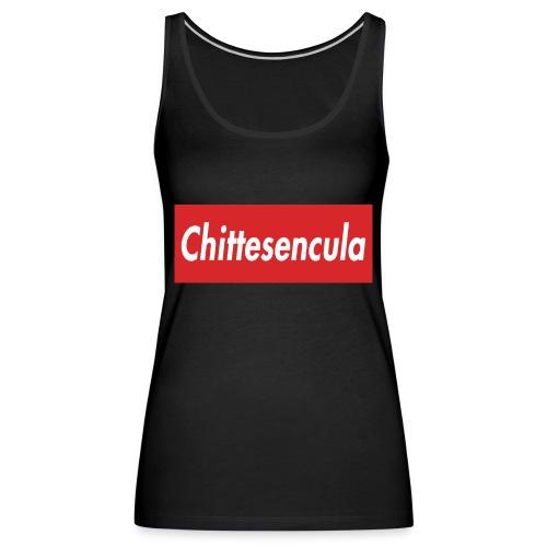 chittese - Canotta premium da donna