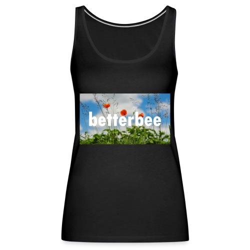 betterbee Banner T-Shirt - Frauen Premium Tank Top