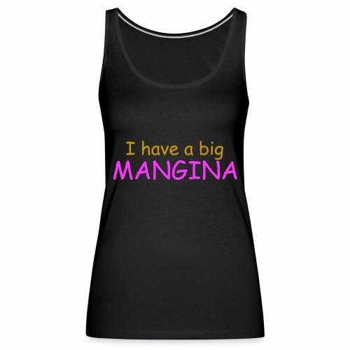 Mangina - Premium singlet for kvinner